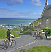 Brittany and Normandy biking photo